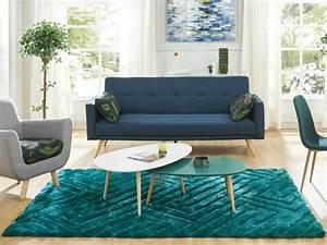 tapis shaggy effet 3d maze polyester vert d39eau 160230cm With tapis vert d eau