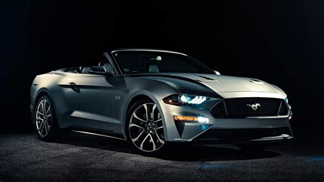 2018 Ford Mustang Convertible 4k Hd Wide Wallpapers