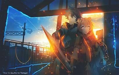 Shield Hero Rising Raphtalia Naofumi 4k