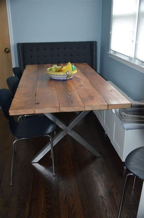 how to make table legs from wood diy buy metal legs from trrtry on etsy and make a