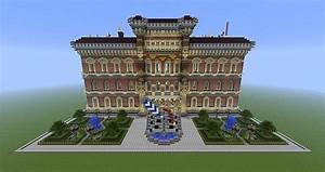 Library or Townhall Minecraft Project