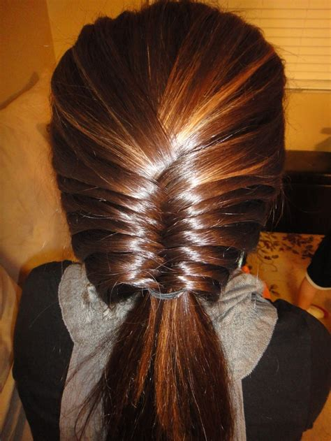 89 Best Images About Fish Tail Braids And Hair Updos On