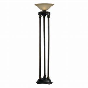 Shop kenroy home colossus 72 in three way oil rubbed for Livorno 3 way floor lamp