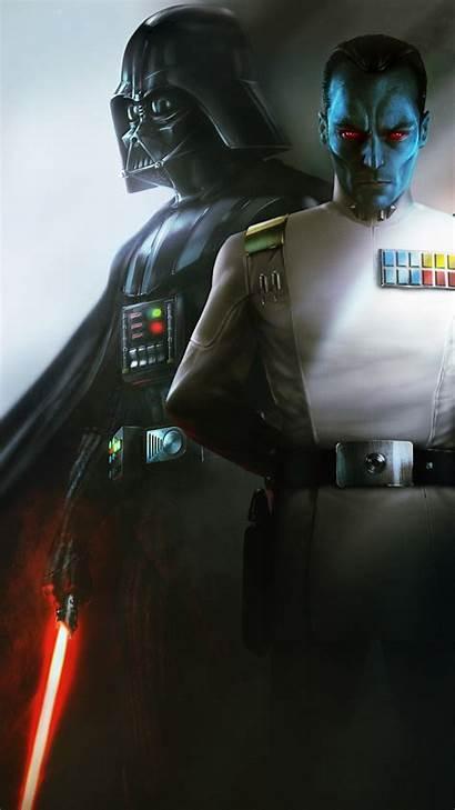 Darth Vader 4k Thrawn Grand Admiral Wallpapers