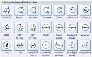 Semiconductor Symbols For Electrical Schematic Diagrams