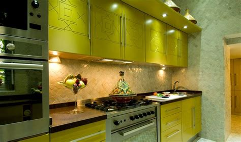 decoration cuisine marocaine idée deco cuisine moderne marocaine