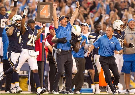 The San Diego Chargers Complete Coaching Staff