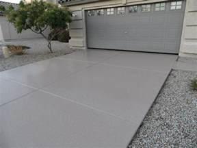 concrete driveway paint white color concrete
