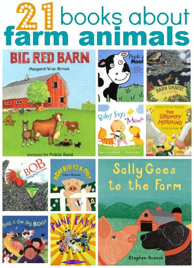 11 farm crafts for 537 | 21 books about farm animals