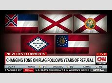 CNN Wonders If State Flags With 'Strong Confederate