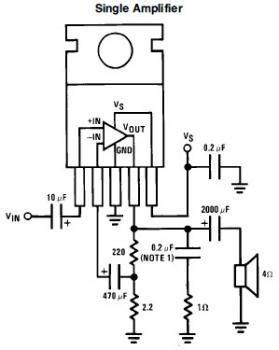 Mini Audio Amplifier Circuit Based