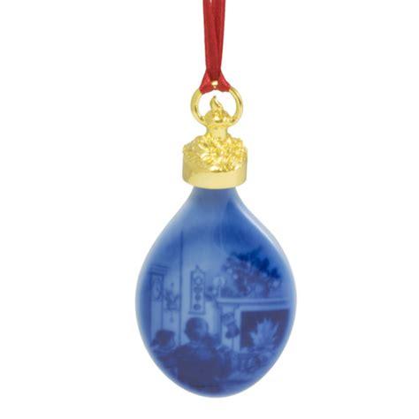 2015 royal copenhagen annual christmas drop porcelain ornament