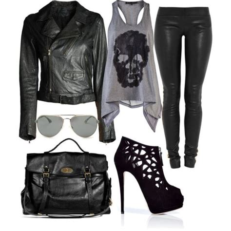 Good for going to a rock concert an edgy club or just for that rocker look on a night out ...