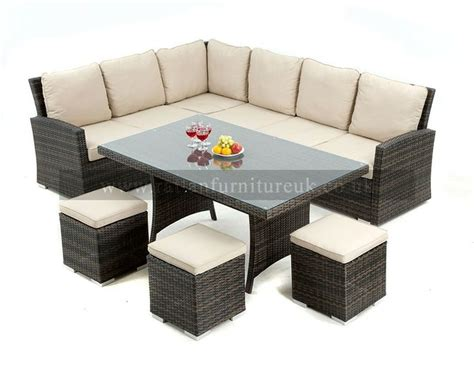 sofa dining set garden 17 best images about rattan garden dining sets on