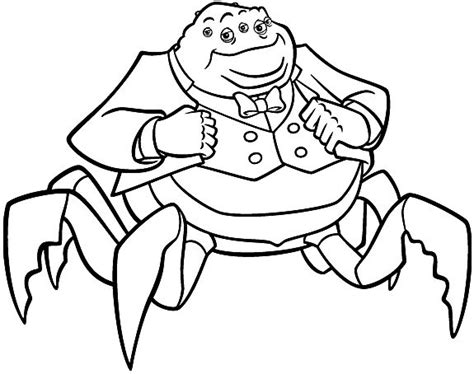 Monsters, Inc Coloring Pages