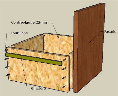 comment faire des tiroirs transformer portes placard en tiroirs forum d 233 coration mobilier syst 232 me d