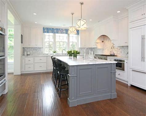 white kitchen gray island grey island houzz 1380