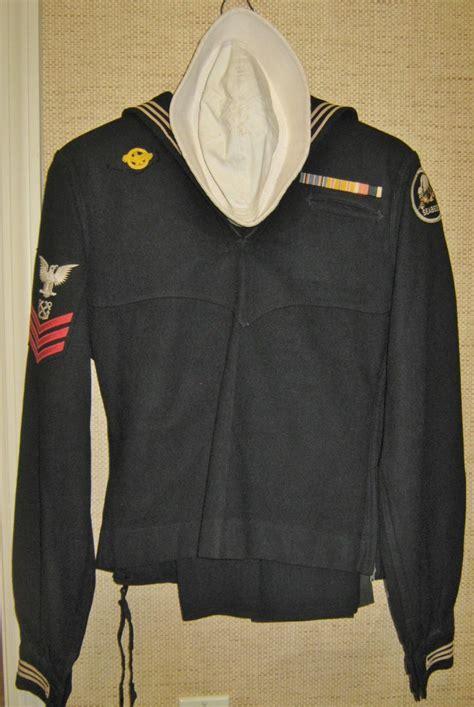vintage wwii seabees navy uniform  collectorsdelights