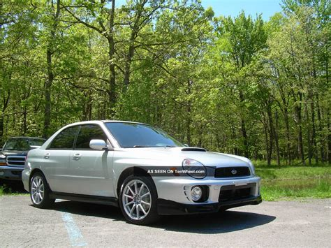 2002 Subaru Impreza Wrx Sedan 4