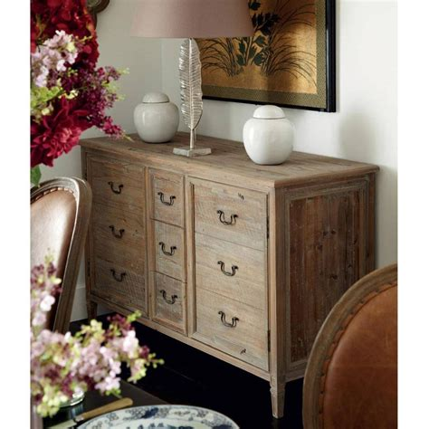 20 Collection Of Distressed Wood Sideboard