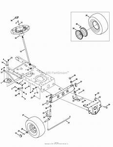 Mtd 13aj78ss099  247 288842   2012  Parts Diagram For Front Axle