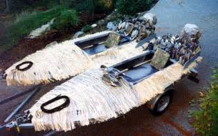Small Hunting Boats For Sale by 2 Man Duck Boat Plans Jenevac