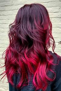 Ombré Hair Rouge : 23 beautiful red ombre hair tutoriels coiffure longs ~ Melissatoandfro.com Idées de Décoration