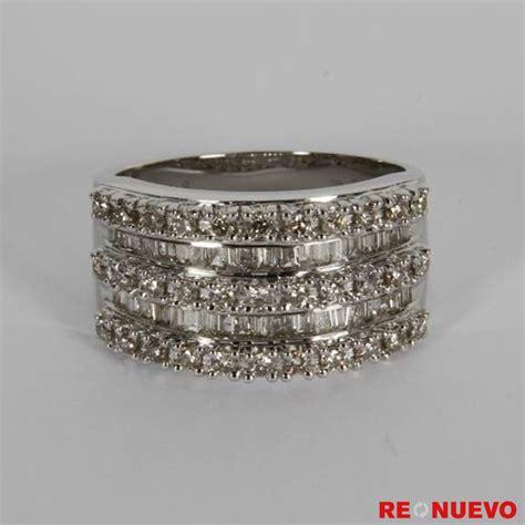 Comprar Anillo Tiara Real De Oro Blanco De Galeria Del