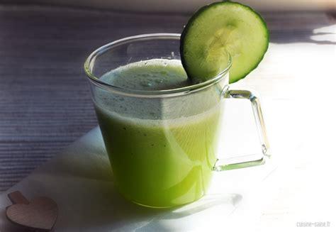 cuisine bio saine recette bio boisson désaltérante et rafraichissante