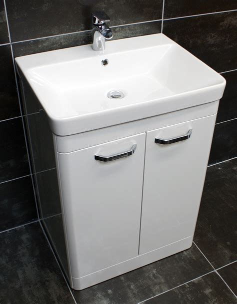 pacific curved bathroom vanity sink units ceramic basin