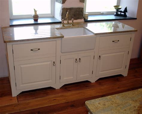 painted kitchen sink cabinets