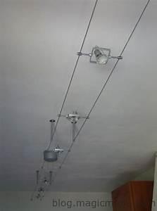 Spot Fil Tendu : spots led sur c bles ~ Premium-room.com Idées de Décoration