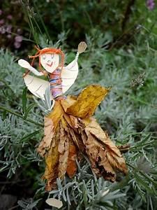 Basteln Mit Laub : mit kindern basteln eine herbstfee aus laub kinderoutdoor outdoor erlebnisse mit der ganzen ~ Buech-reservation.com Haus und Dekorationen