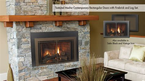 gas fireplace insert home hearth gas inserts