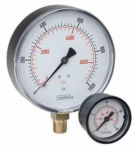 15-100-30-psi  Bar - Dial Indicating Pressure Gauge