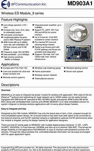 M2communication Md903a1 Wireless Ed Module 9 Series User