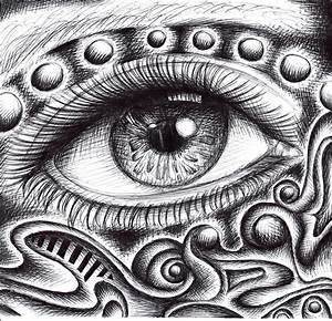 Psychedelic Eye by chibikelzafox on DeviantArt
