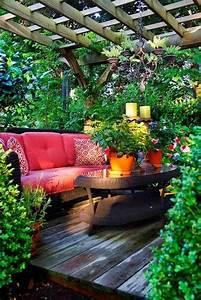 schoner garten und toller balkon gestalten ideen und tipps With französischer balkon mit garten und wegeleuchten