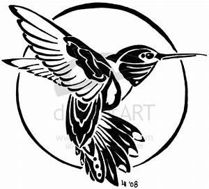 Hummingbird tribal tattoo by Finaira on DeviantArt