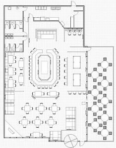 Restaurant Floor Plan Plan Pinterest Restaurants