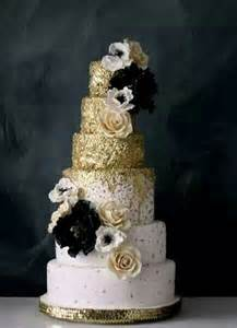 gold wedding cake wedding cake trend glitter wedding cakes arabia weddings