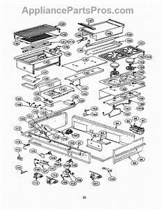Parts For Thermador Prse484ggs  Burner Box Parts