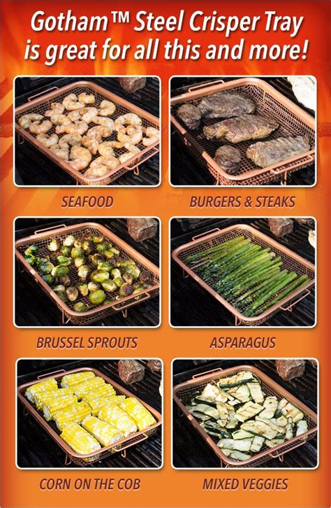 gothamtrade steel crisper tray  great      chef recipes copper crisper