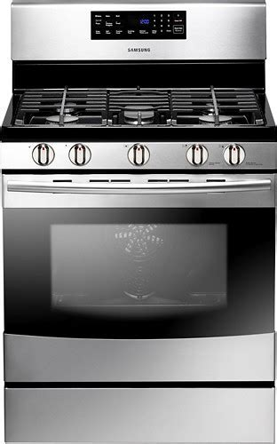 "Samsung 30"" Self Cleaning Freestanding Gas Convection"
