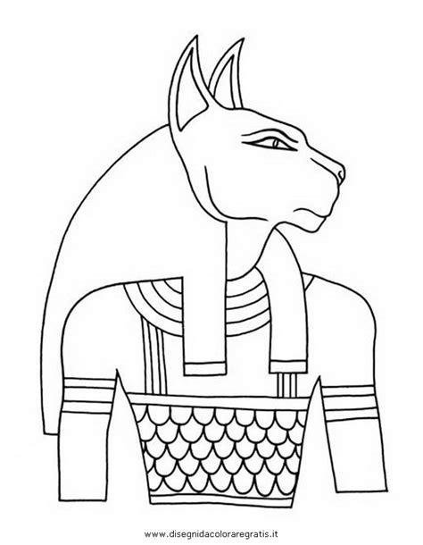 disegno egizibastet categoria nazioni da colorare