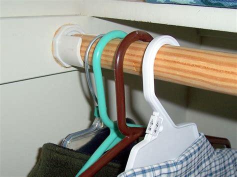 Hang It Up Closet Rod 9 Steps