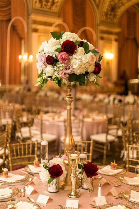 beautiful centerpiece ideas  anniversary wedding