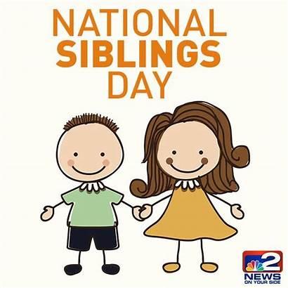 Siblings National Hug Sibling Happy Today Give