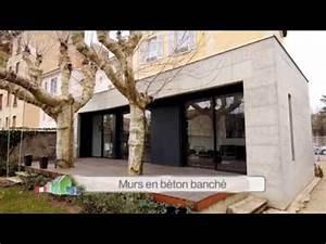 extension en beton banche ma maison s39agrandit france 2 With maison en beton banche 2 mlel dank architectes