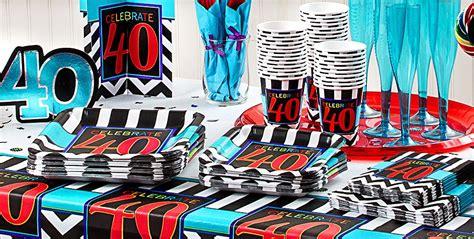 40th birthday decorations canada celebrate 40th birthday supplies 40th birthday